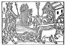 Peasant and plough