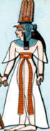 Rich Egyptian female costume
