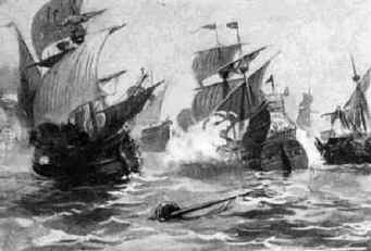 Defeated Spanish Armada