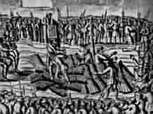 Burning of Protestants