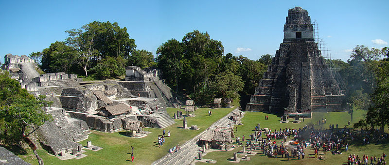 Features of Mayan Cities
