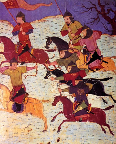 The Mongol Empire's Best Weapon: The Mongolian Horse