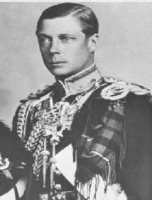 British Monarchy – Edward VIII