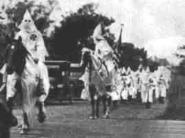Black Peoples of America – The Ku Klux Klan
