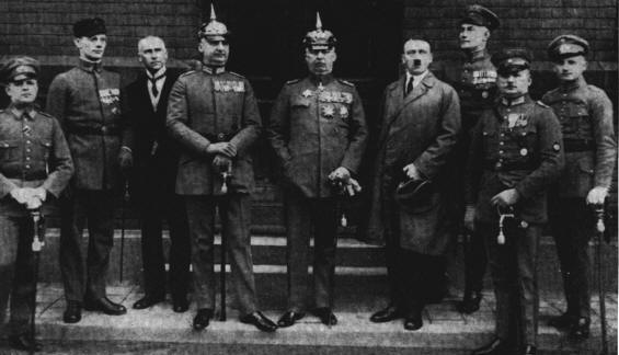 Nazi Germany – Munich Beer Hall Putsch