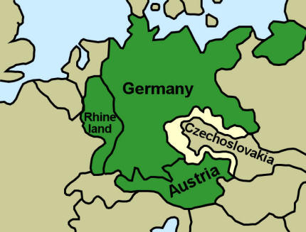 Nazi Germany – Sudetenland