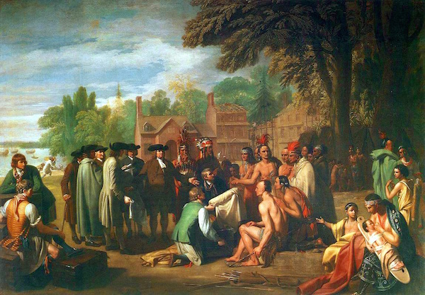 How did the Pilgrims become friends with the Wampanoag?