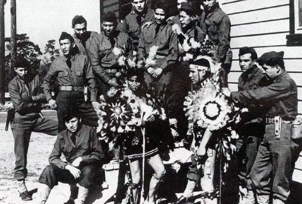 Navajo Code Talkers in World War Two