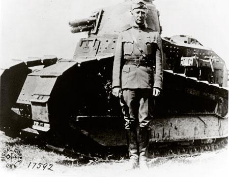 George S. Patton in World War I