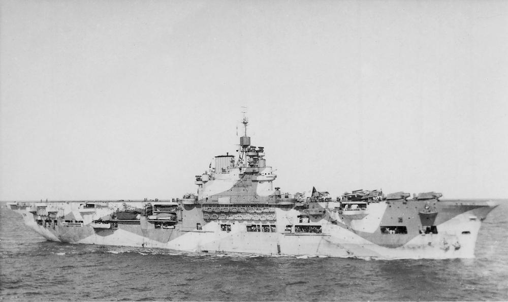 The British Pacific Fleet in World War Two