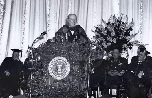 Winston Churchill's Iron Curtain Speech: Predicting the Cold War ...