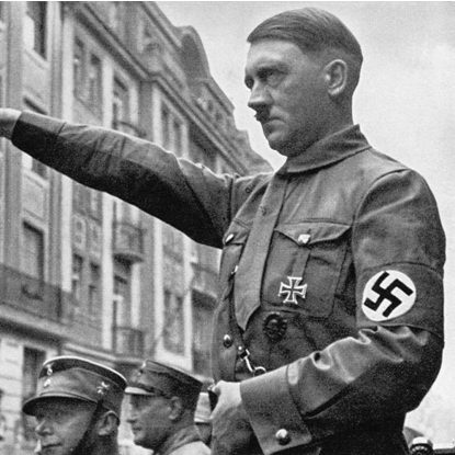 "why did adolf hitler become a With the death of german president paul von hindenburg, chancellor adolf hitler became absolute dictator of germany under the title fuhrer or ""leader""."