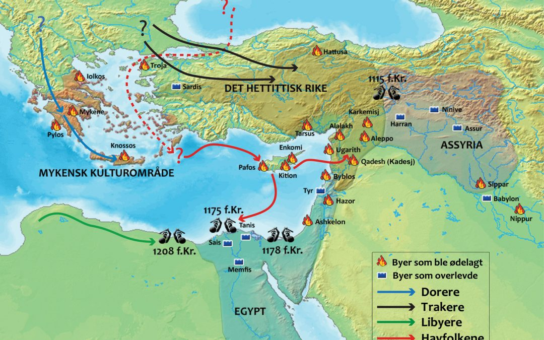 #66: The Bronze Age Collapse of 1177 BC: The Most Catastrophic Event in History