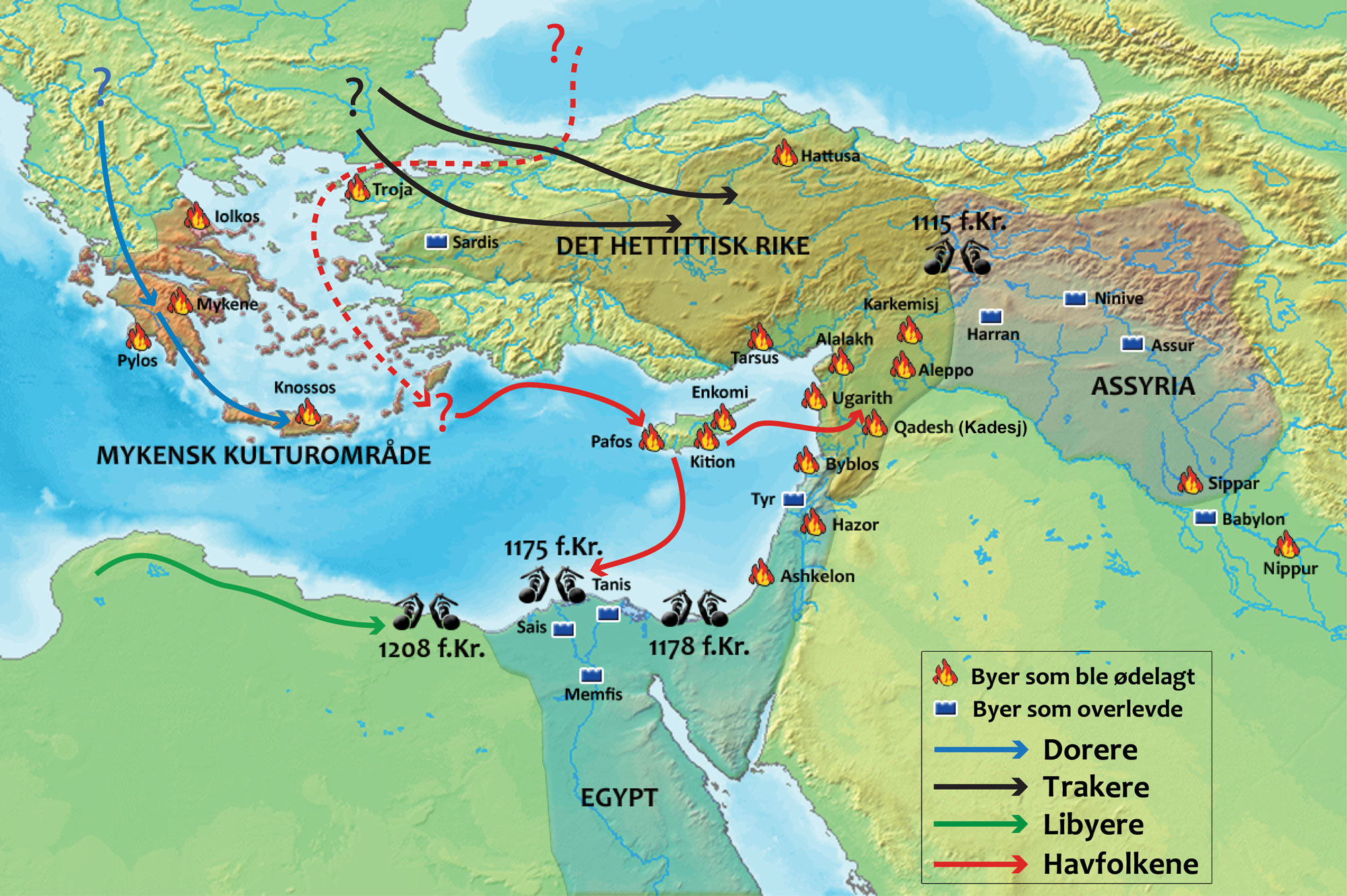 66 The Bronze Age Collapse Of 1177 BC The Most