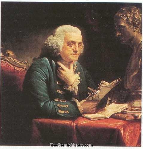 Patrick Henry and Benjamin Franklin