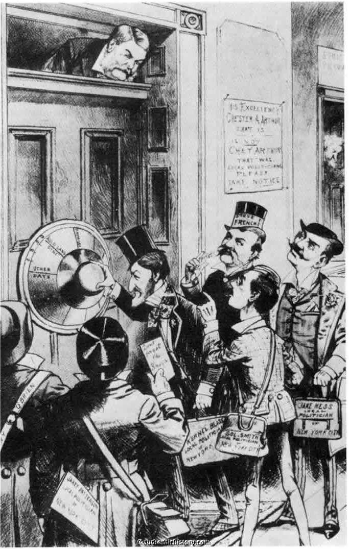 Immigration Reform >> The Chester A. Arthur Administration: 1881-1885