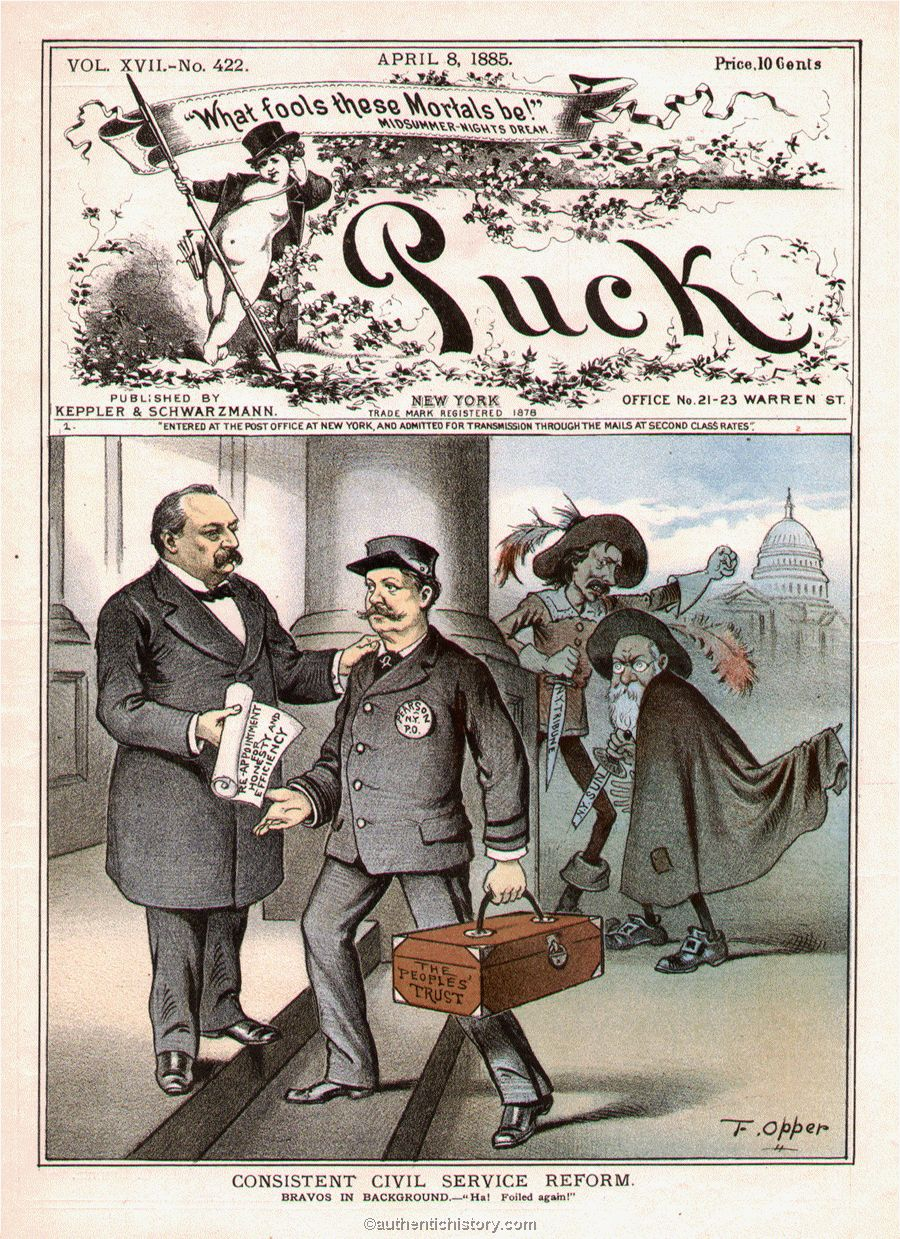 Civil Service History : The first grover cleveland administration