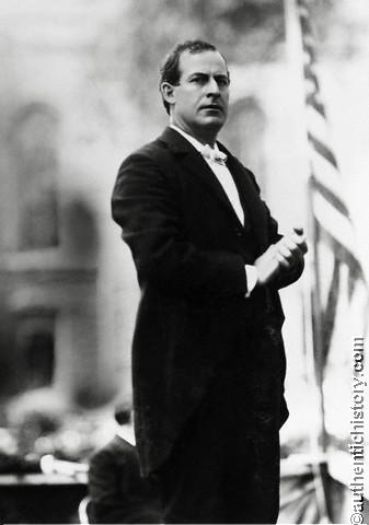 william jennings bryan s political campaign William jennings bryan was a prominent figure in us politics during the late   during his campaign for the senate, bryan took up the free silver cause,.