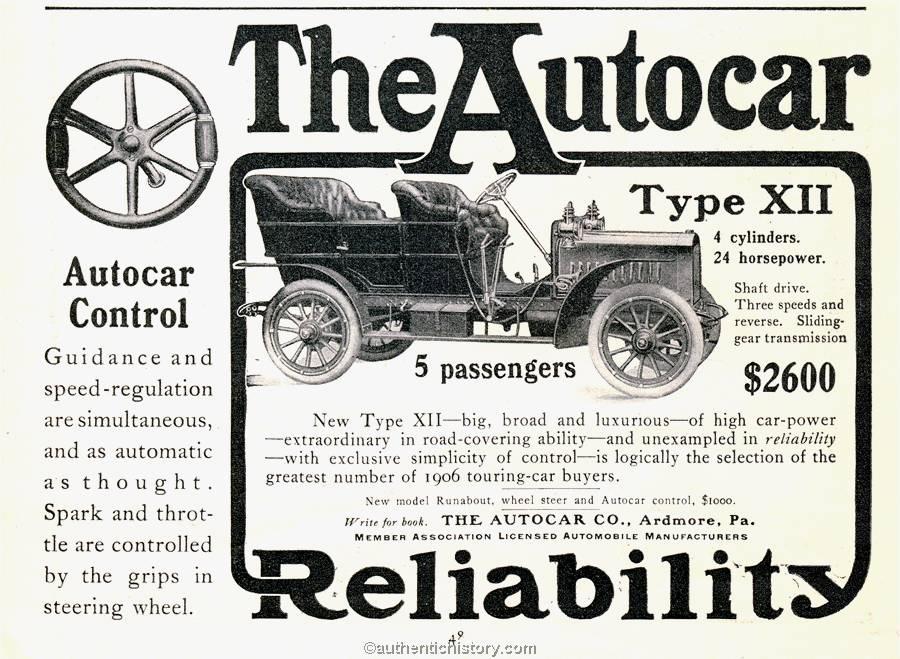 the autocar company 1906