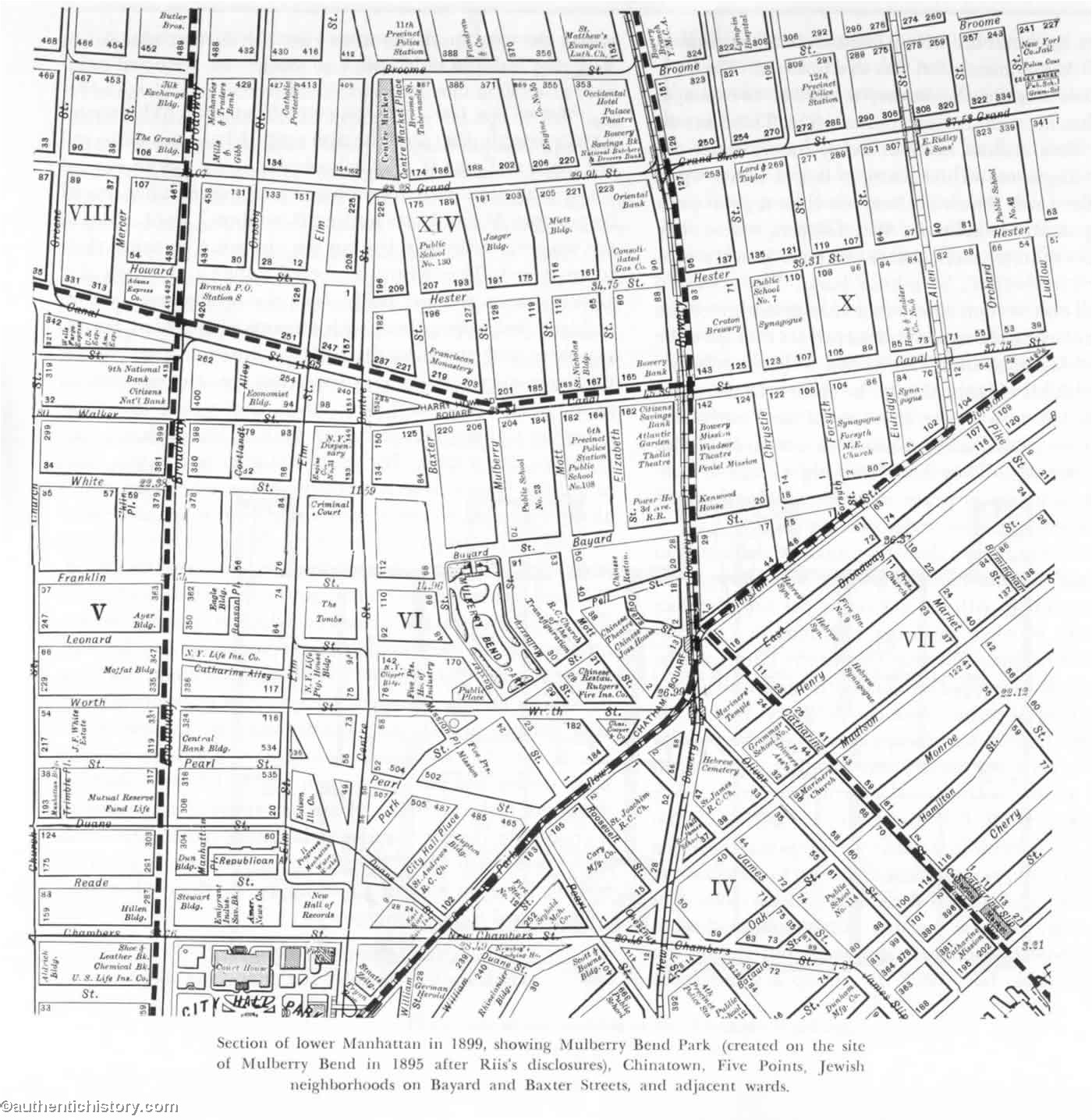 how the other half lives by jacob riis chapter  map