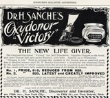 "Dr. H Sache's Oxydonor ""Victory"""
