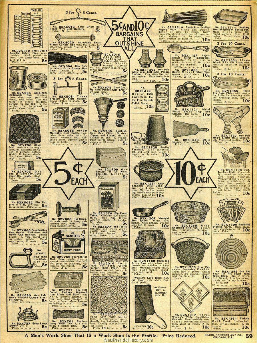 1914 Sears Household Catalogue