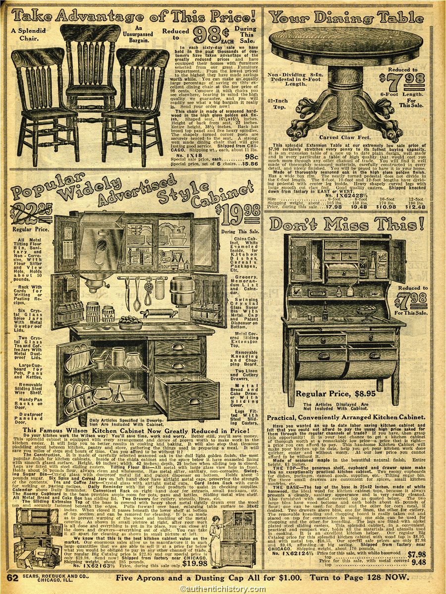 1914 Sears Household Catalogue