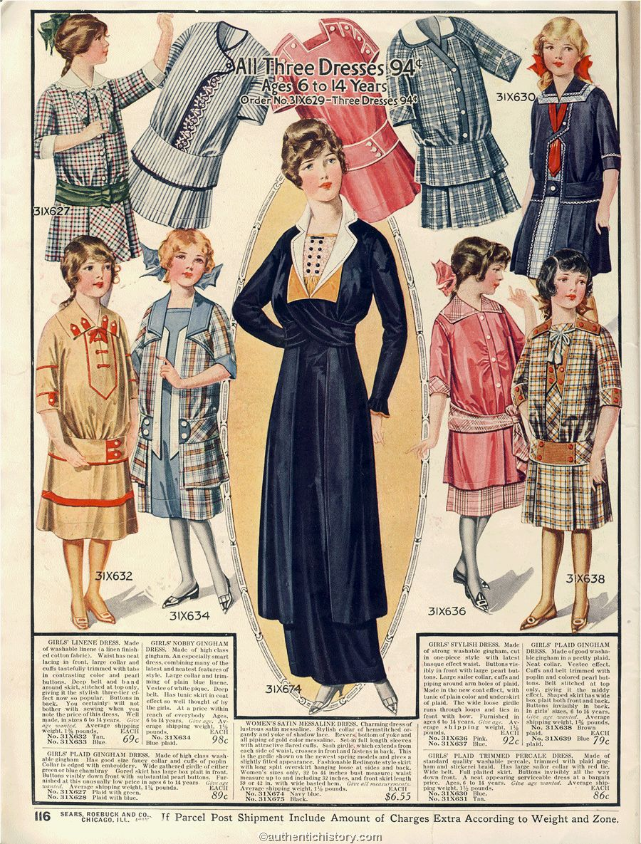 1914 dress images