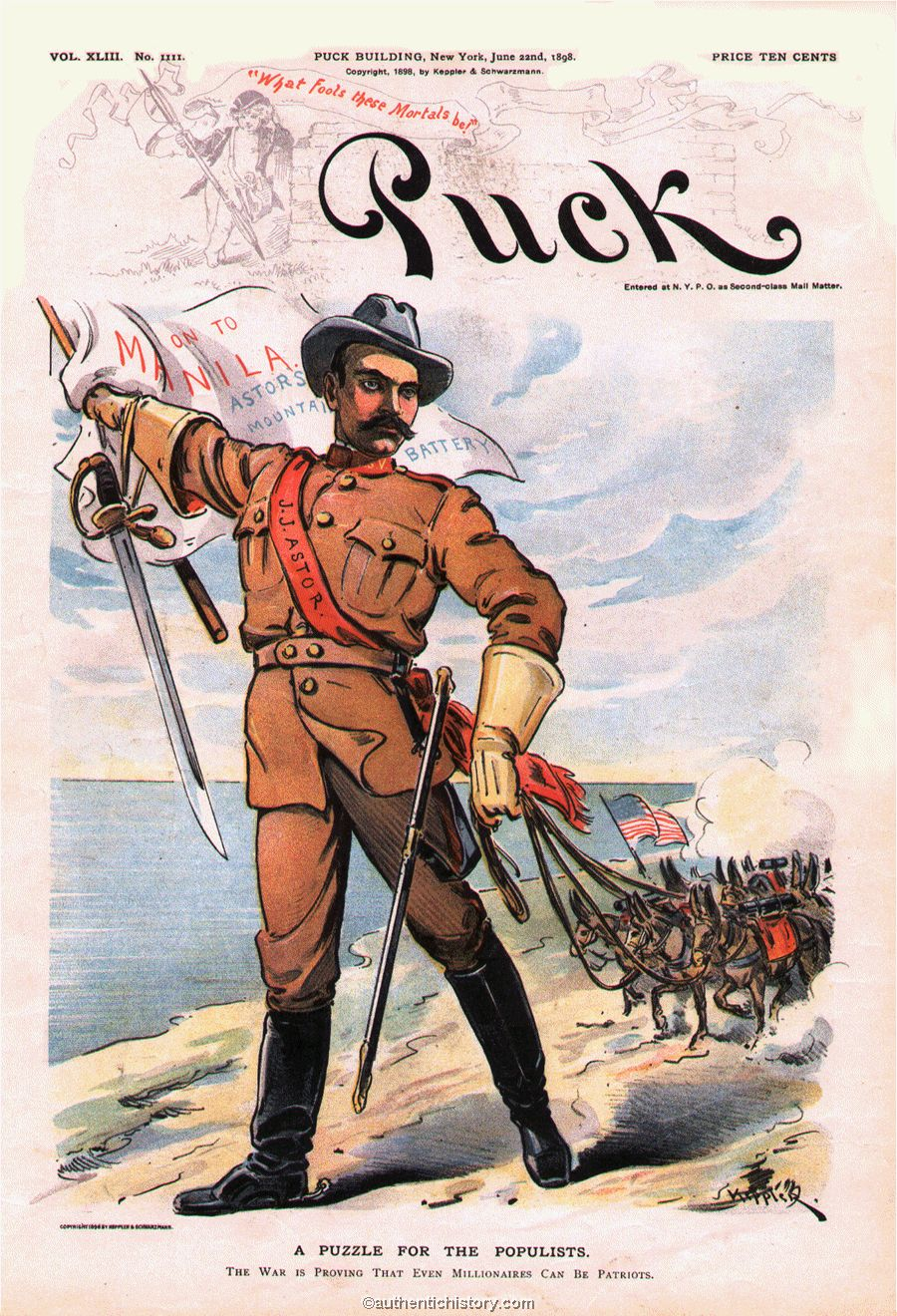 spanish american war term paper