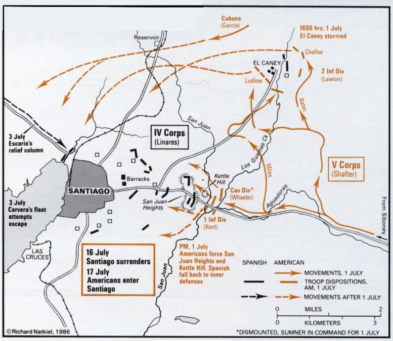 Spanish American War Philippines Map.The Spanish American War Part 3 Cuba Puerto Rico