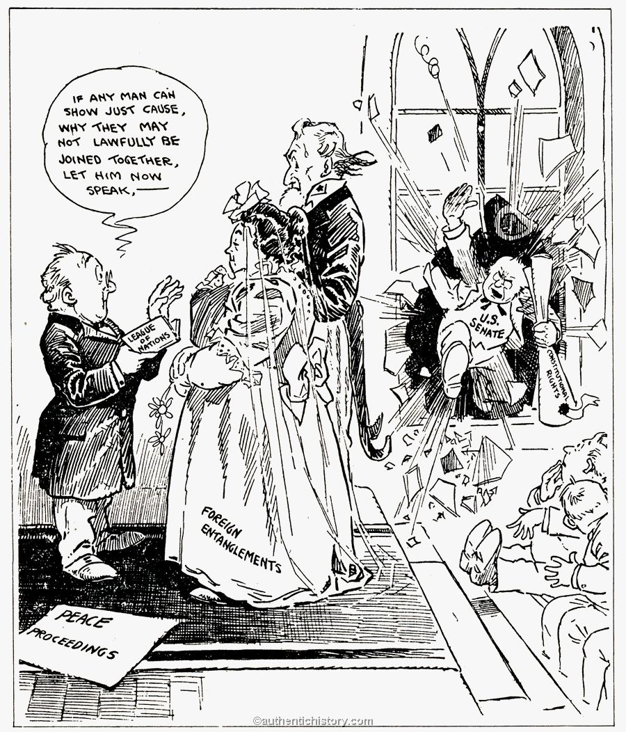 Woodrow Wilson, The Treaty of Versailles, and the League ...