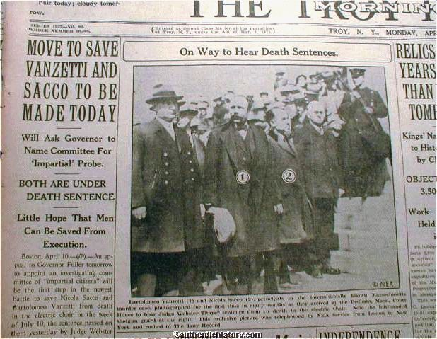 sacco and vanzetti trial essay Sacco vanzetti essayspost world war i nativism was expected and to some extent justified, but was taken to an extreme in the sacco and vanzetti case at this time.