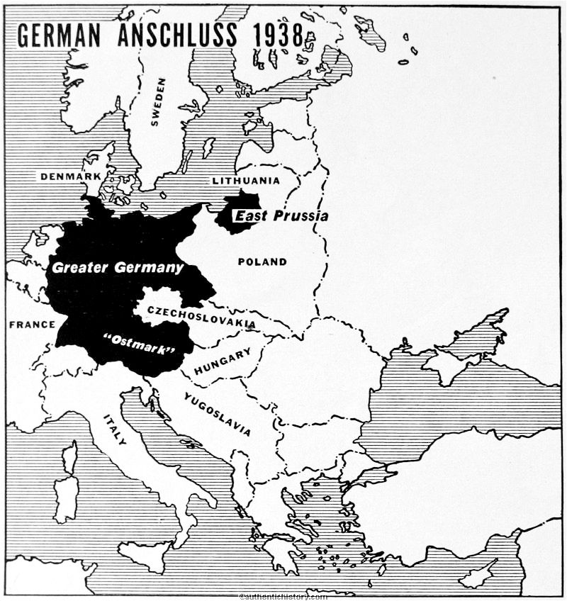 The Road To War Germany - Germany map cartoon