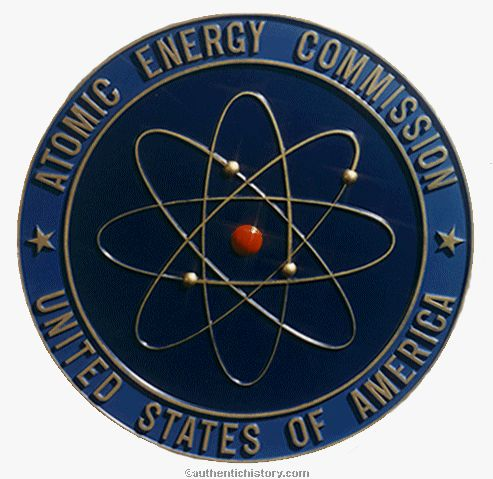 Atomic Energy Commission Pin