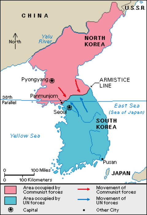 Worksheet. An Overview of the Korean War