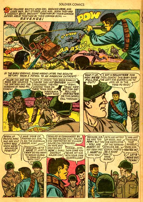 the korean war in comic books
