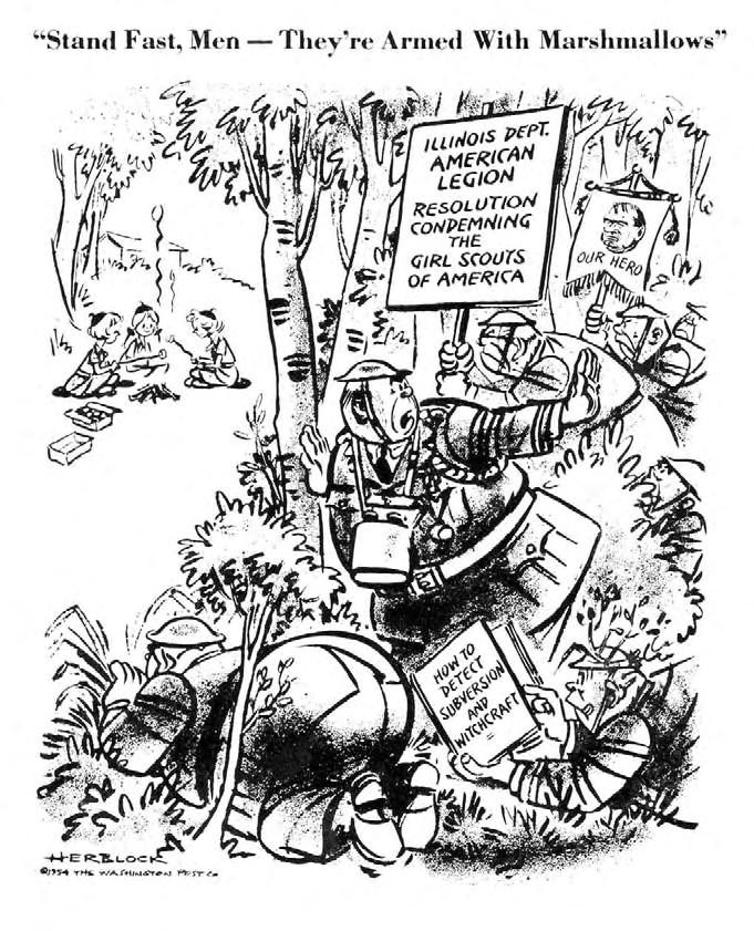 Herblock Cartoon 8 11 54