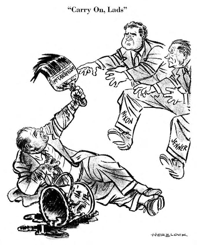 Herblock Cartoon 10 7 54