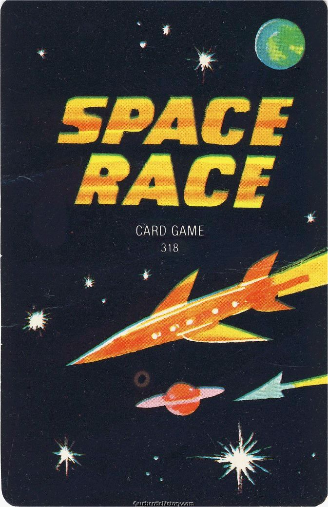 The Spacerace Card Game 1969