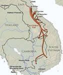 Map: The Ho Chi Minh Trail