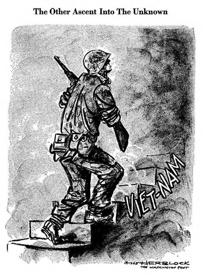 an overview of the vietnam war as a war of attrition by the united states Attrition warfare is a military strategy consisting of belligerent attempts to win a war by wearing down the enemy to the point of collapse the vietnam war.