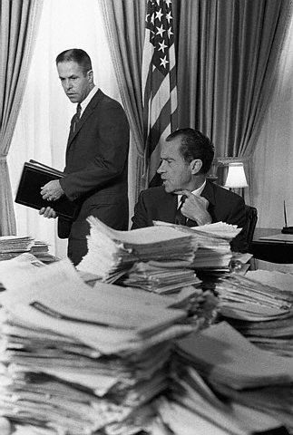 Image result for gap revealed on the nixon white house tapes
