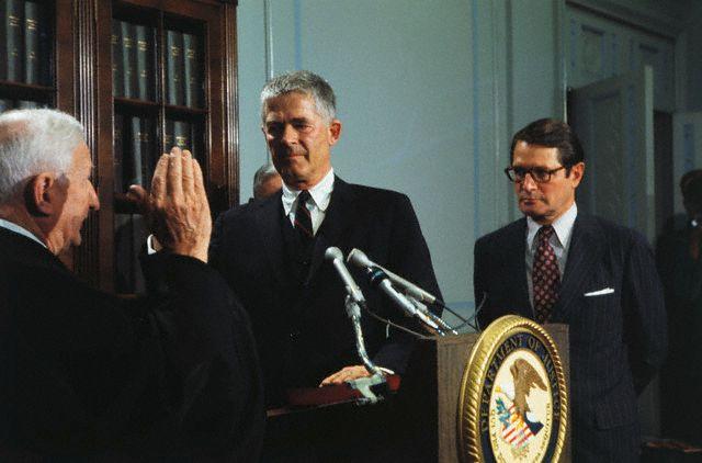 Archibald Cox sworn in, 5/25/73 ...