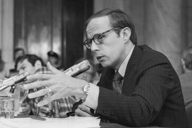 Image result for john dean testifies before the senate watergate committee on nixon's enemies list