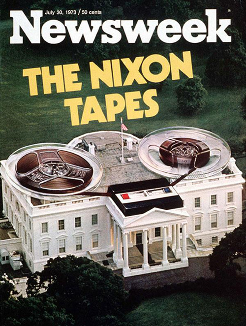 Image result for gap revealed on nixon white house tape