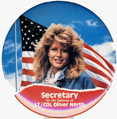 Hustler fawn hall and oliver north #5