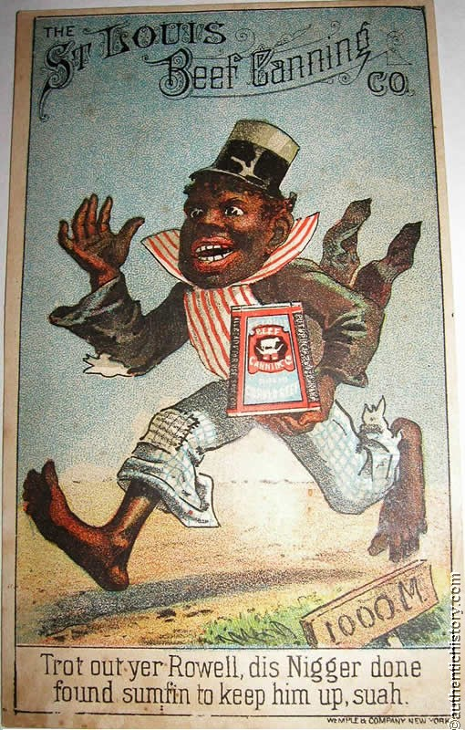 the coon caricature