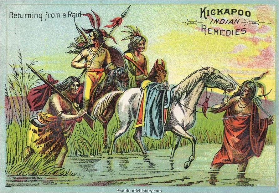 a history of the kickapoo indians in america