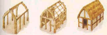 wattle and daub houses