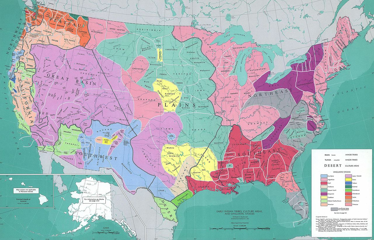 Native American Tribes and Nations - History